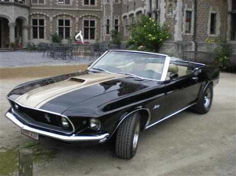 oldtimer te huur ford mustang cabrio. Black Bedroom Furniture Sets. Home Design Ideas
